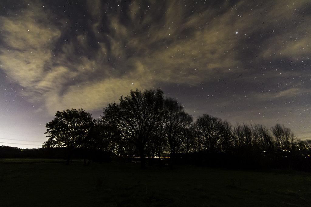 Kemnader lake by night