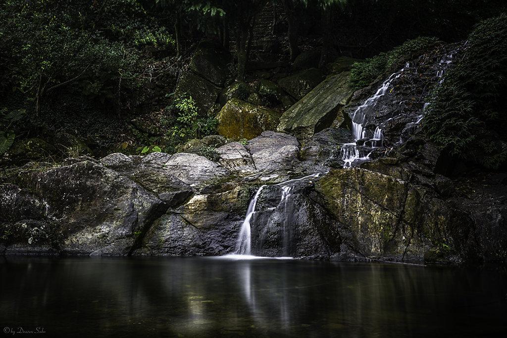Waterfall at Khoang Xanh